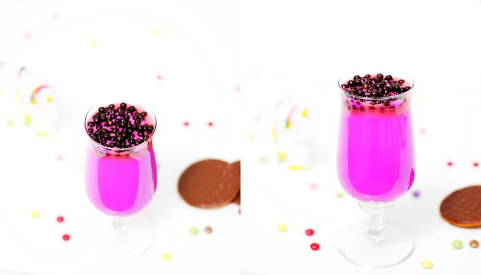 Roze chocolademelk 1