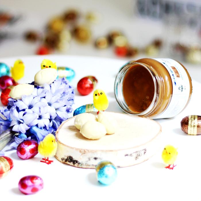 Witte Chocolade - Speculoos Paaseieren 2
