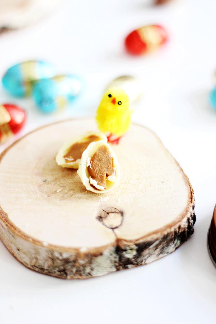 Witte Chocolade - Speculoos Paaseieren 4
