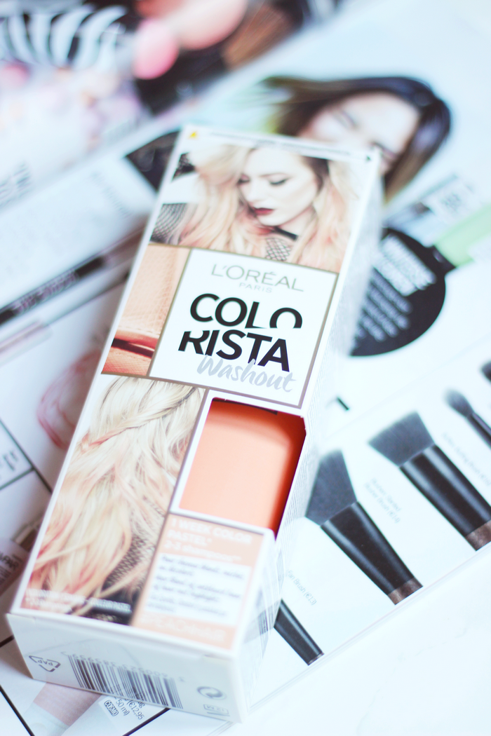 l'oreal colorista washout review peach pastel kruidvat colors to play review