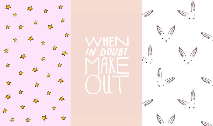 mobiele wallpapers achtergronden lente lentegevoel pastel