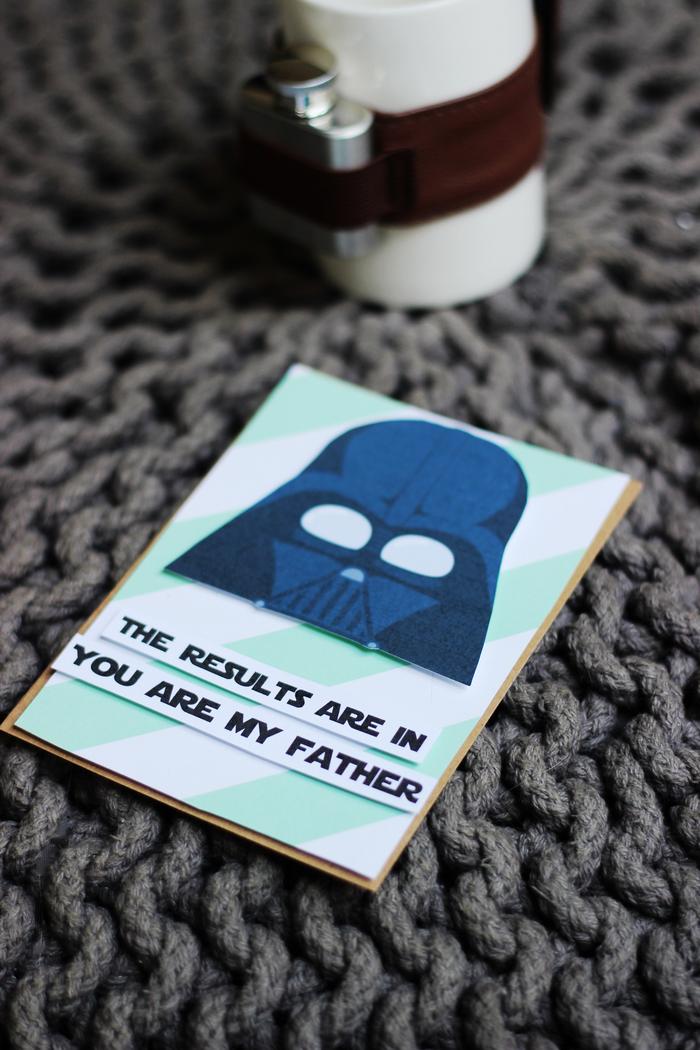 vaderdag kaarten vaderdagkaarten postkaarten originele grappige kaarten vader star wars i am your father