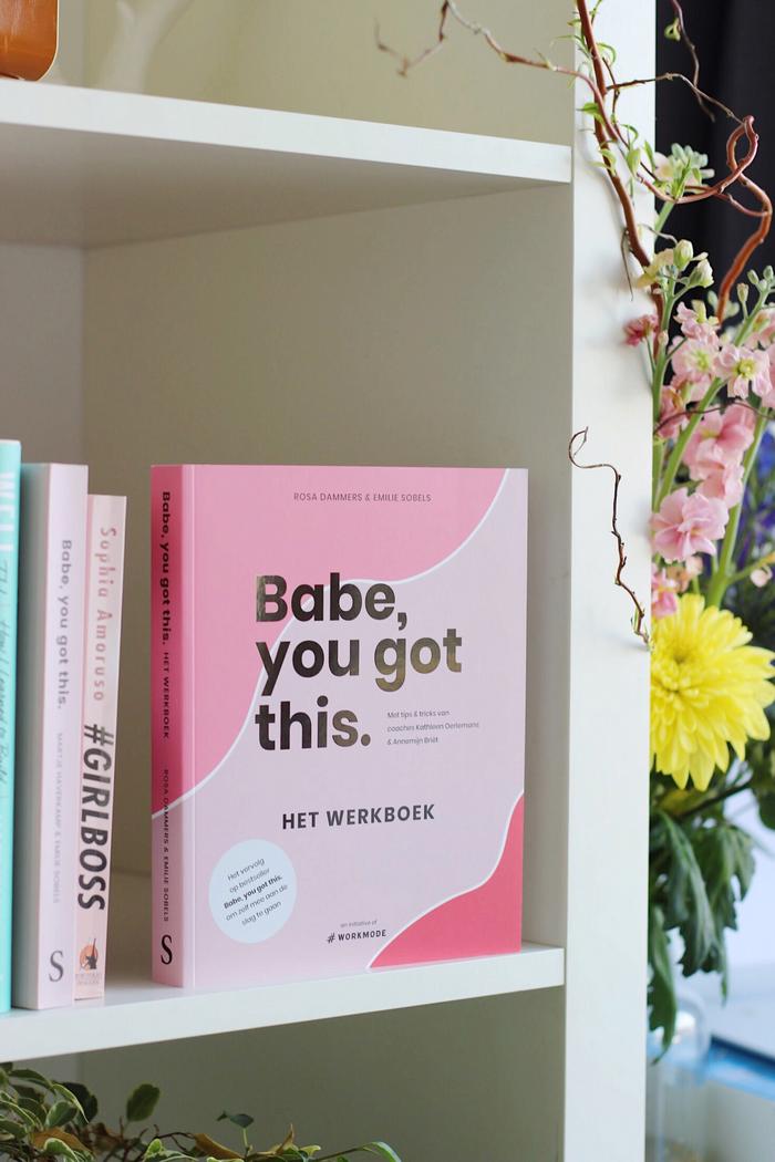 babe you got this het werkboek recensie ervaring rosa dammers emilie sobels Babe, you got this. Het Werkboek