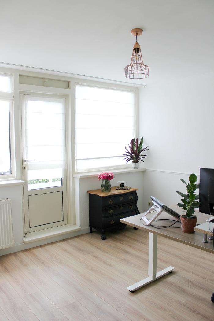 thuiskantoor make-over voor en na foto's thuiskantoor tips interieurinspiratie thuiskantoor inrichten