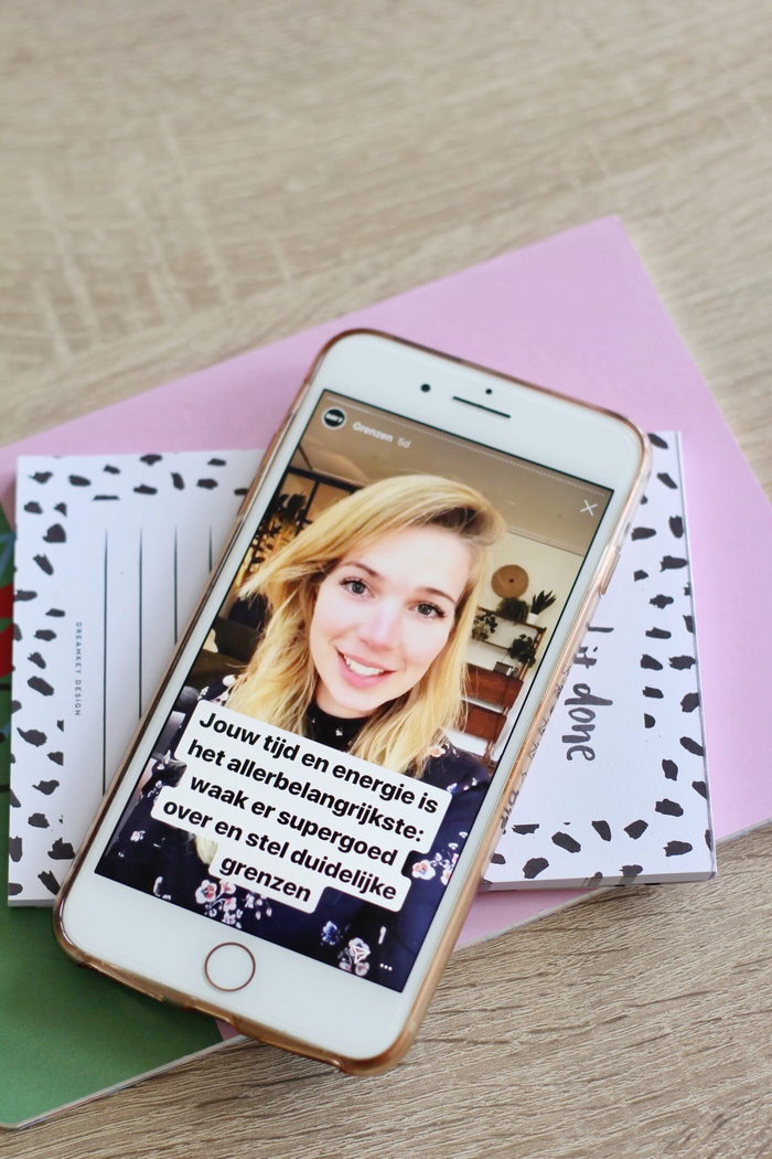 #productiviteitonfleek charlotte van 't wout c academy productiviteit tips instagramcursus c academy
