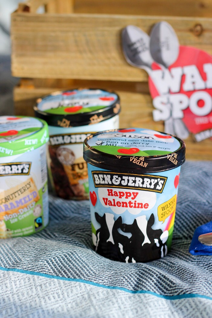 ben & jerry's non dairy winactie valentijn topped love is