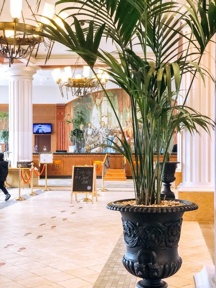 disneyland paris vienna dream castle hotel