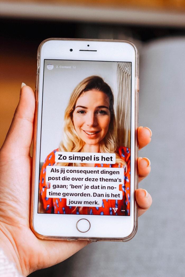 #longstoryshort c academy charlotte van 't wout instagram stories tips instagramcursus