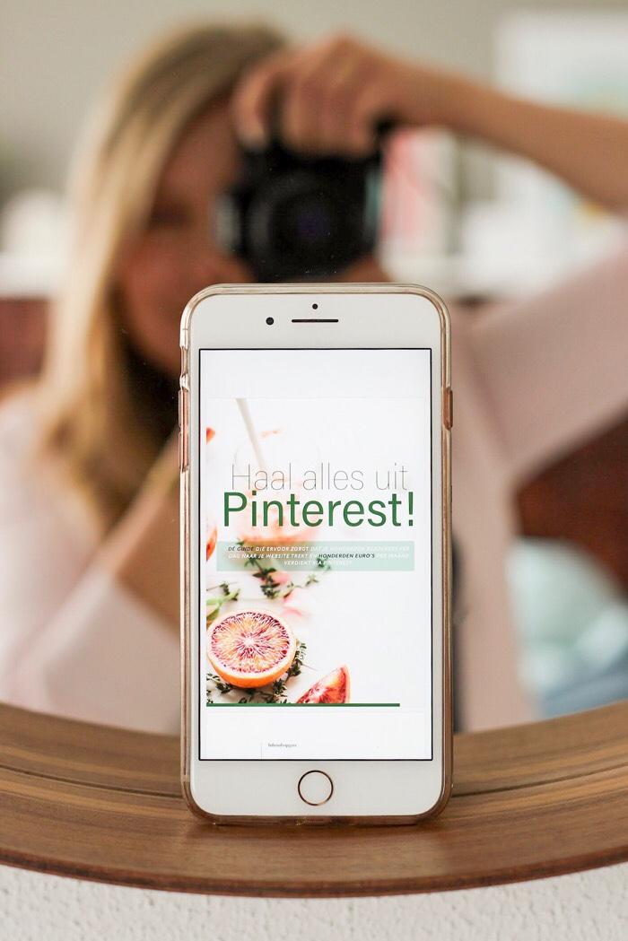 haal alles uit pinterest e-book Dionne Knooren recensie review